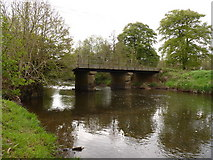 SS6613 : Kersham Bridge on the river Taw as seen from downstream by Roger A Smith