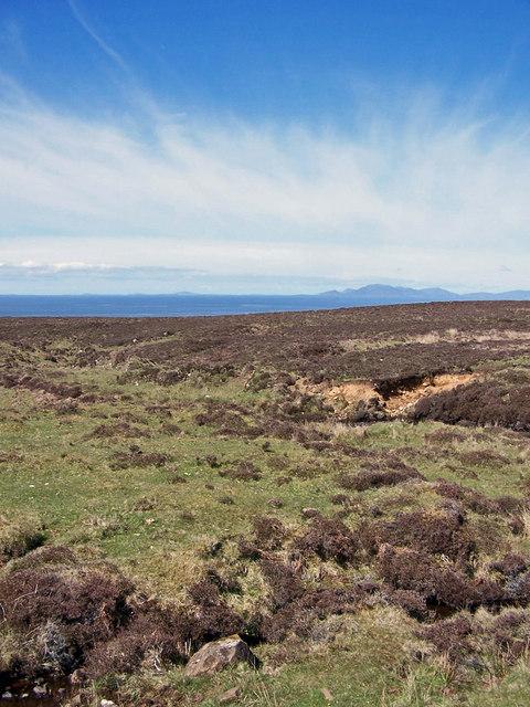 Waternish moorland