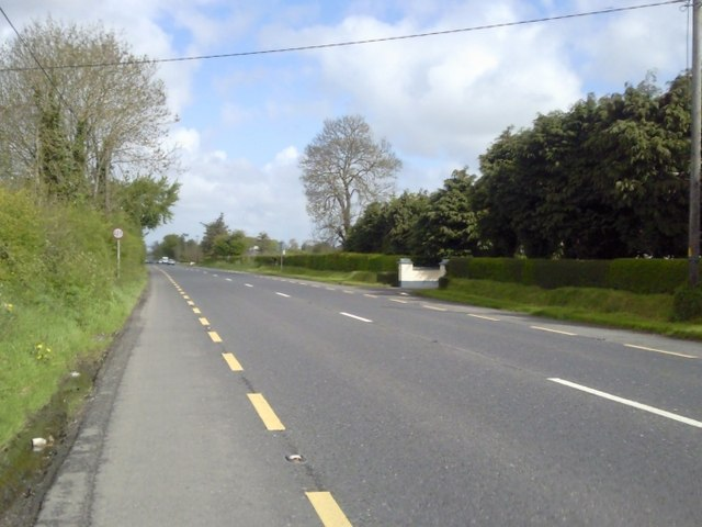 Main Road, the N3, Co Meath