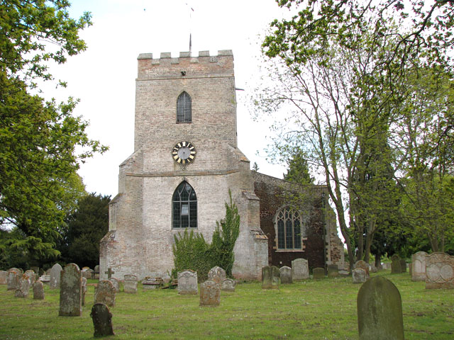 The church of All Saints in Hilgay