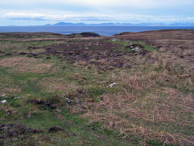 Moorland towards Waternish Point