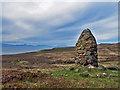 NG2263 : Memorial Cairn - Cross of John's Son by Richard Dorrell