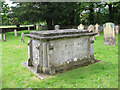 TF7401 : St John's church in Oxborough - churchyard by Evelyn Simak