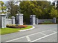 N9353 : Gate, Killeen Castle, Co Meath by C O'Flanagan