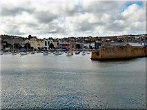 SW4730 : Penzance Harbour by David Dixon