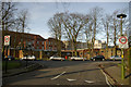 SP0481 : Selly Oak Hospital from Elm Road by Phil Champion