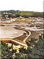 SW5130 : St Michael's Mount Causeway at Low Tide by David Dixon