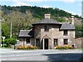 SJ2523 : Former toll house, outside Porth y Waen by Christine Johnstone