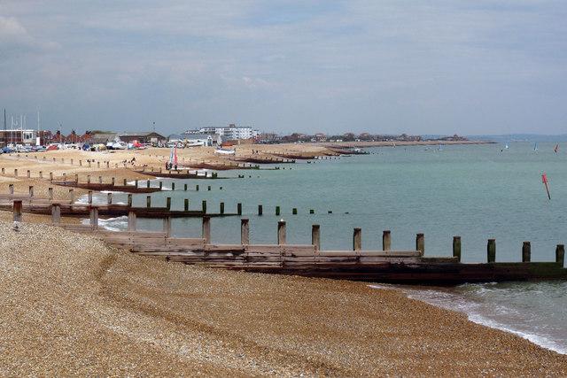 Beach and Groynes