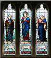TL6294 : St Mary's church in Southery - stained glass by Evelyn Simak