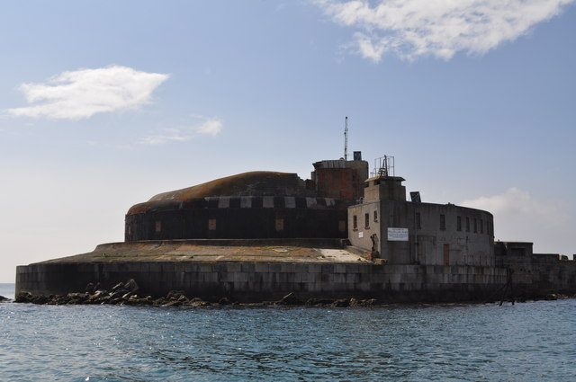 Outer fort - Portland Harbour breakwater