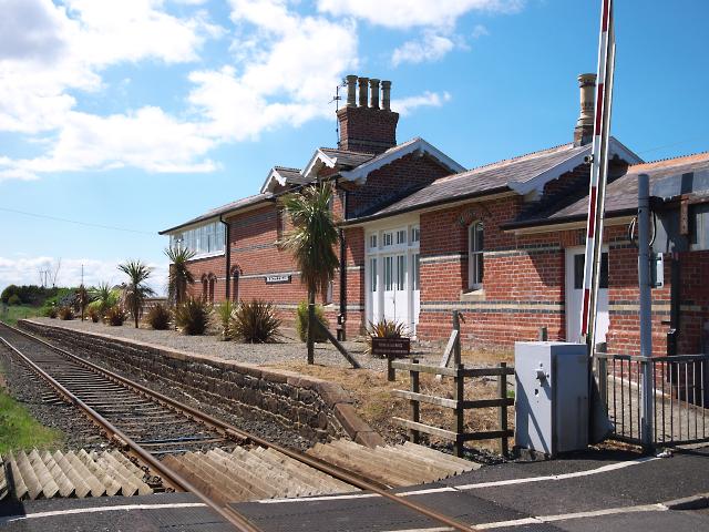 Former railway station, Magilligan