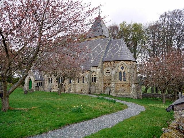St James Church, Hunstanworth