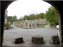 NY9650 : North part of Blanchland village from Abbey Gatehouse by Andrew Curtis