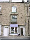 SD9827 : the yorkshire soap co - Market Street by Betty Longbottom