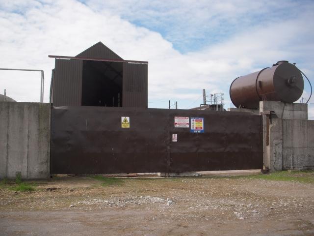 Farm entrance, Co Meath