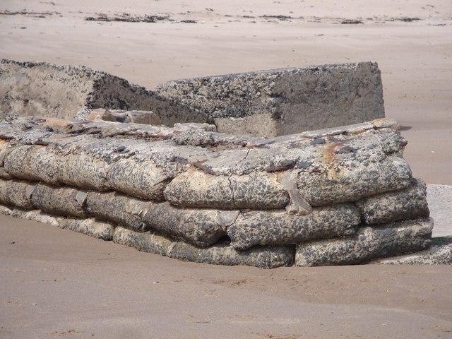 Stone sandbags?