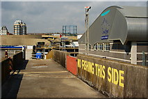TQ3303 : Western Breakwater, Brighton Marina, Sussex by Peter Trimming