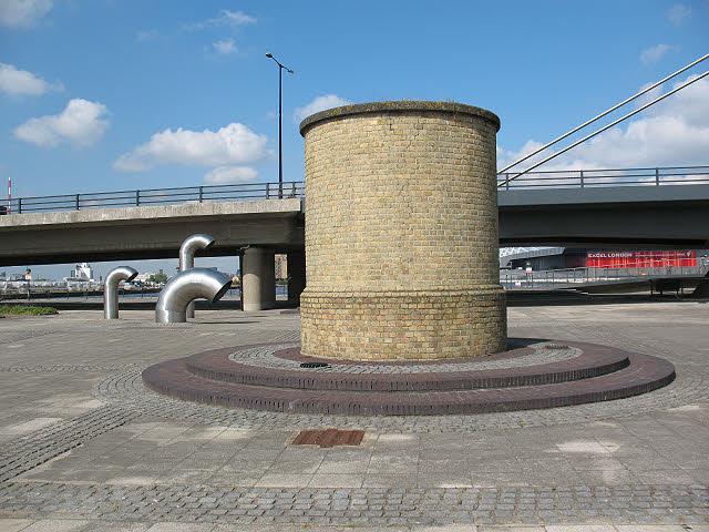 Silvertown tunnel vent shaft