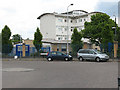 TQ4182 : Mini-roundabout on Boundary Lane, Newham by Stephen Craven