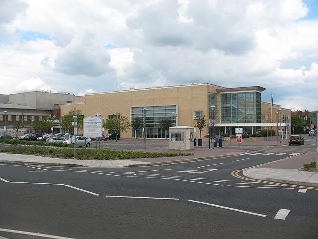 Newham University Hospital: main entrance