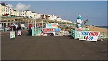 TQ3103 : Brighton Esplanade, Sussex by Peter Trimming