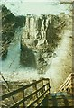 NY8828 : High Force, Teesdale in 1984 by John Baker