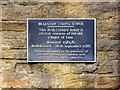 SD7312 : Bradshaw Chapel Tower - Plaque by David Dixon
