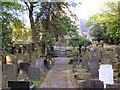 SD7312 : St Maxentius Graveyard and Church by David Dixon