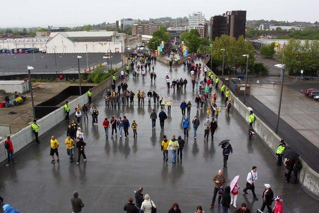 Olympic Way at Wembley Stadium