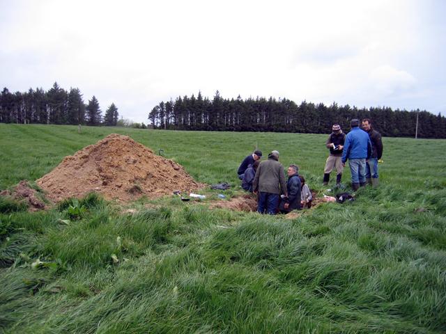 A gathering of soil scientists, Johnstown Castle Farm
