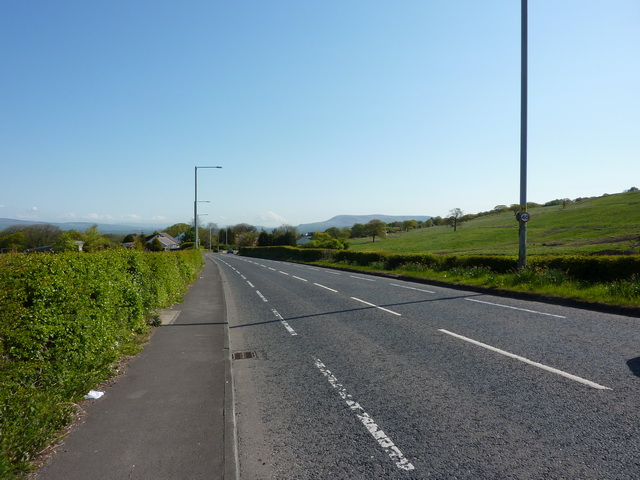 Whalley  Road, Langho