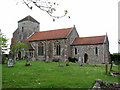 TF6918 : The church of All Saints in Ashwicken by Evelyn Simak