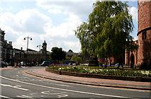 NY4055 : Carlisle:  Citadel and station by Dr Neil Clifton
