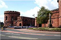 NY4055 : Carlisle:  The Citadel by Dr Neil Clifton