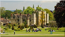 TQ4745 : Hever Castle, Kent by Peter Trimming