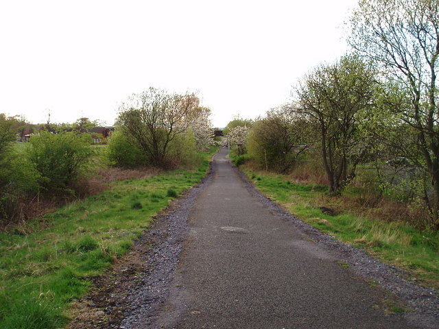 Cycle track Linwood