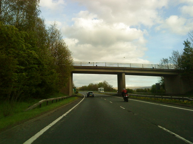 Bridge over the A66 at Brough