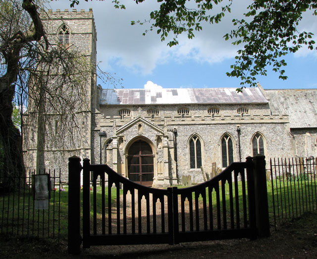 The church of St Lawrence in Harpley