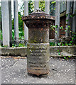 J3170 : Old boundary post, Belfast by Rossographer