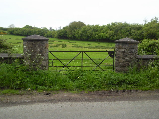 Gate, Bogganstown, Co Meath