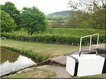 SJ9065 : Disused railway embankment next to Bosley Locks by Raymond Knapman