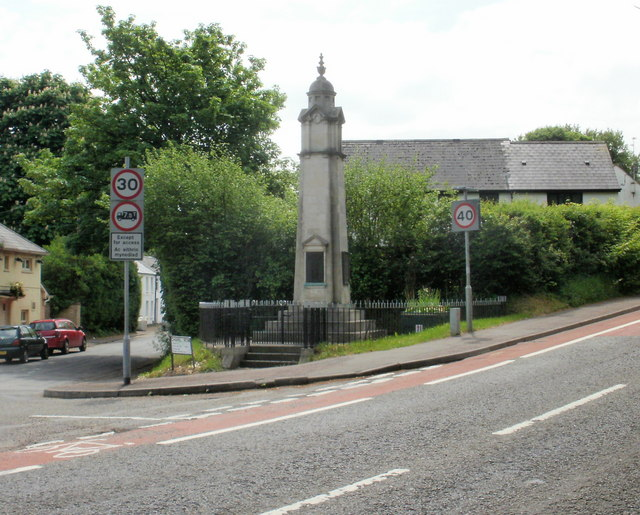 Old St Mellons War Memorial, Cardiff