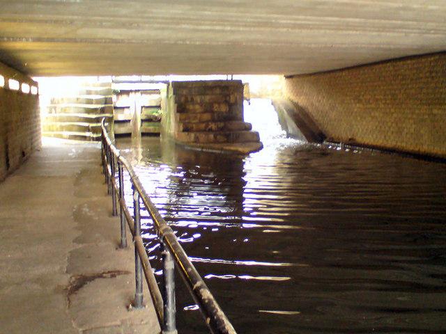 Ashton Canal Under Great Ancoats Street