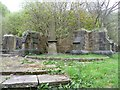 SD9026 : Ruins of Mount Zion Methodist Church, Cornholme, Todmorden by Humphrey Bolton