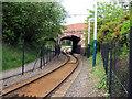 SK5343 : Cinderhill Tram Stop - 2 by John Sutton