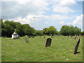 TF8521 : All Saints' church in Weasenham - churchyard by Evelyn Simak
