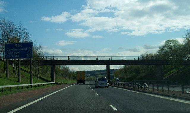 Bridge over M80