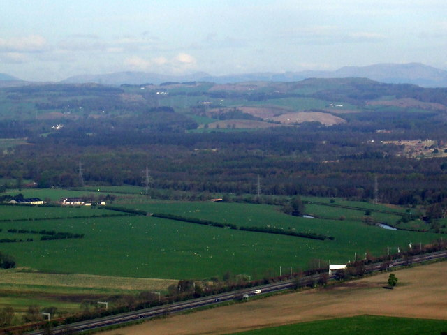 Former ROF Bishopton site from the air