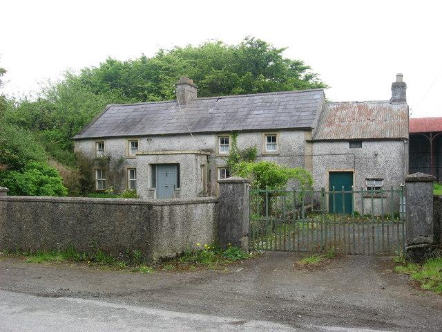 Old farmhouse at Tobertown, Co. Dublin